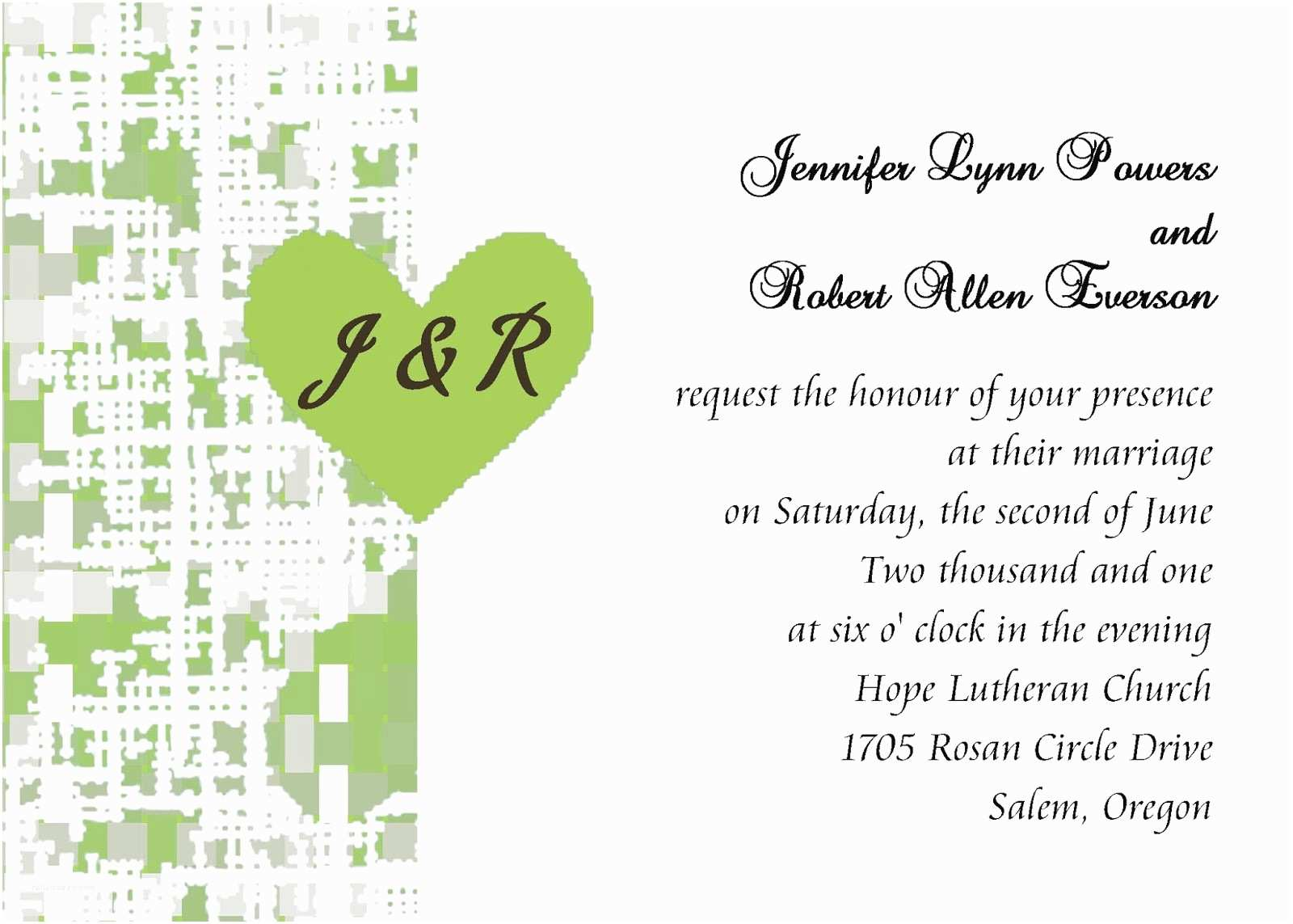 Wedding Reception Invitation Wording Already Married Black Wedding Invitations Wedding Invitation Etiquette