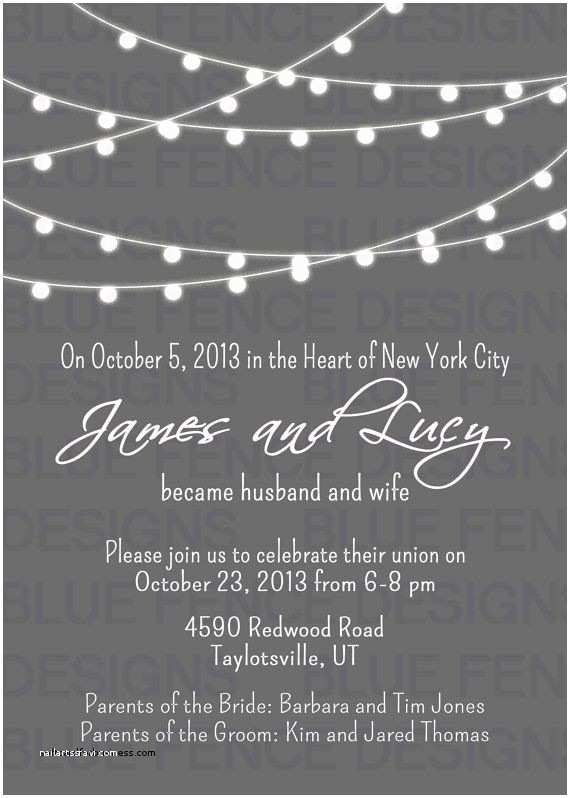 Wedding Reception Invitation Wording Already Married Wedding Invitation Fresh Wedding Reception Invitation