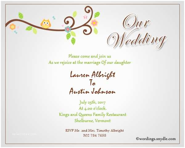 Wedding Reception Invitation Wording Samples Informal Wedding Invitation Wording Samples Wordings and