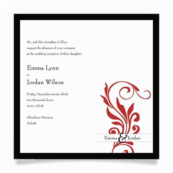 Wedding Reception Invitation Wording Samples Invitation Wording for Reception Ly Samples