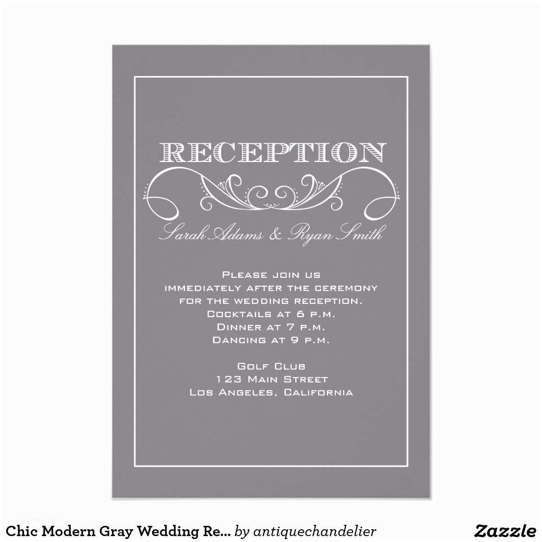 Wedding Reception Invitations Stunning Wedding Reception Invites