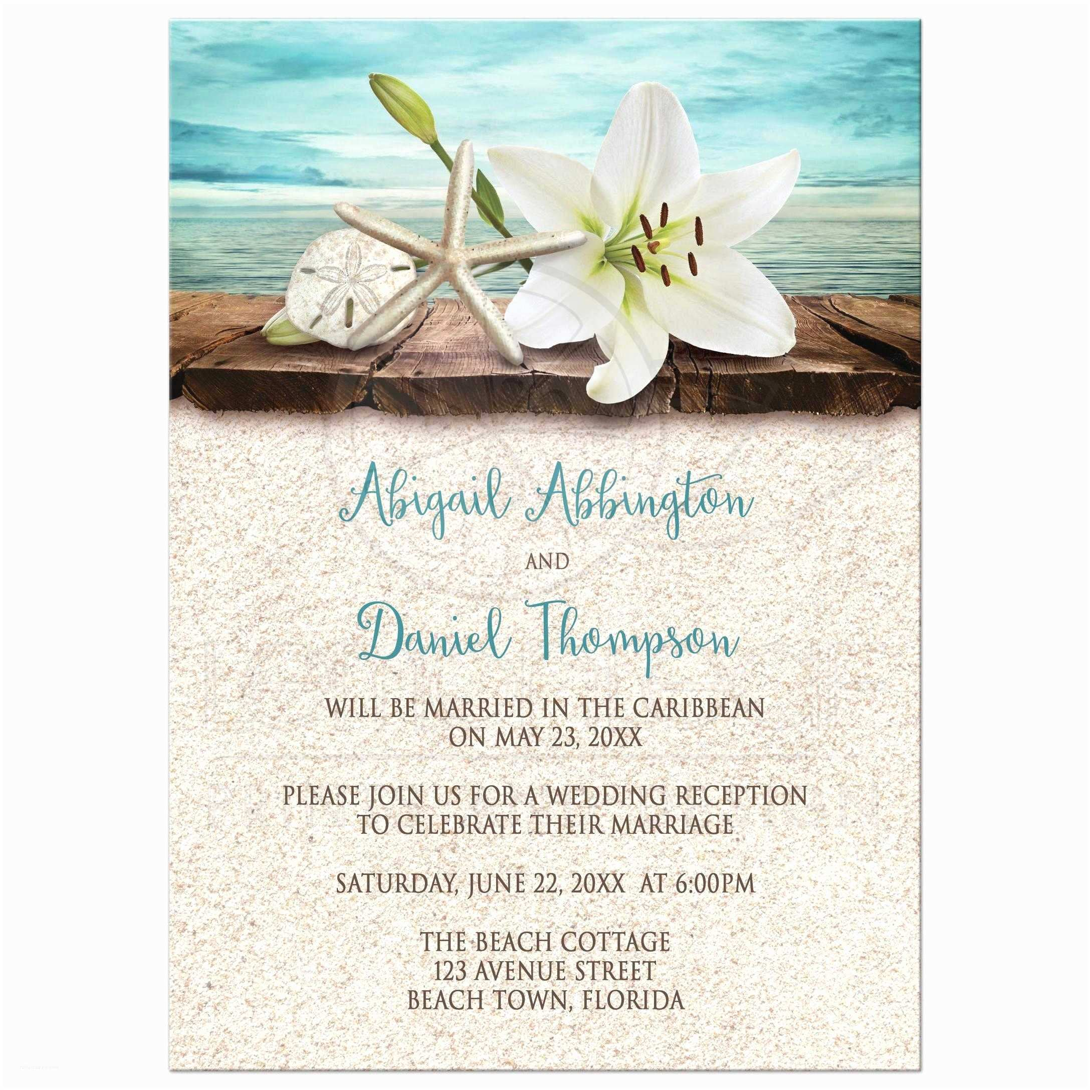 Wedding Reception Invitations Wedding Invitations Beach Reception Invitations Invite