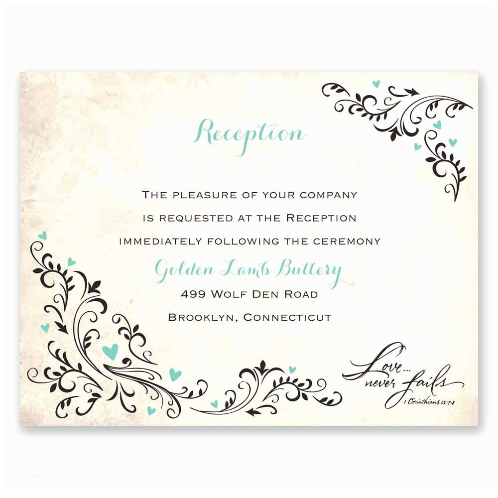 Wedding Reception Invitations Wedding Reception Invitations – Gangcraft
