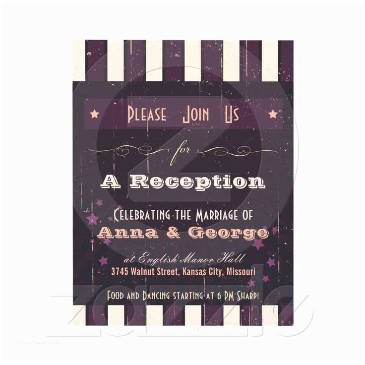 Wedding Reception Only Invitations 17 Best Images About Wedding Invites On Pinterest