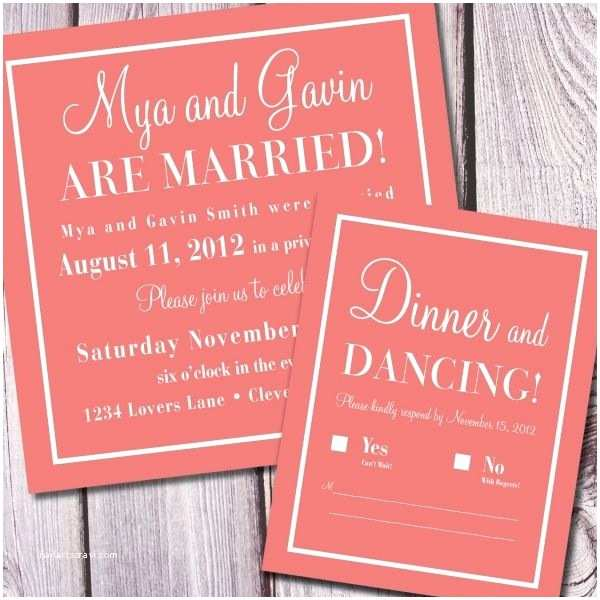 Wedding Reception Only Invitations Best 25 Reception Only Invitations Ideas On Pinterest