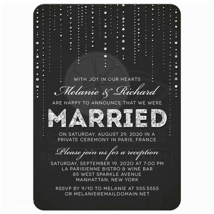 Wedding Reception Only Invitations Best 25 Reception Only Invitations Ideas On Pinterest