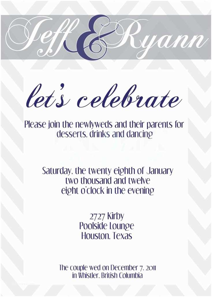 Wedding Reception Only Invitations Best 25 Wedding Reception Invitation Wording Ideas On