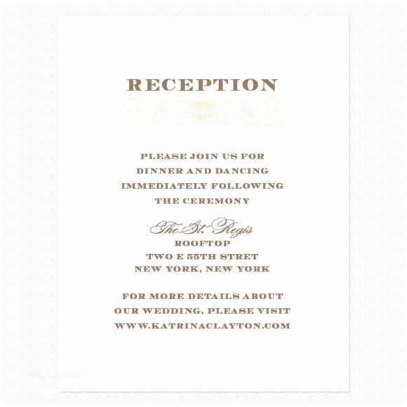 Wedding Reception Only Invitations Wedding Reception Invitations