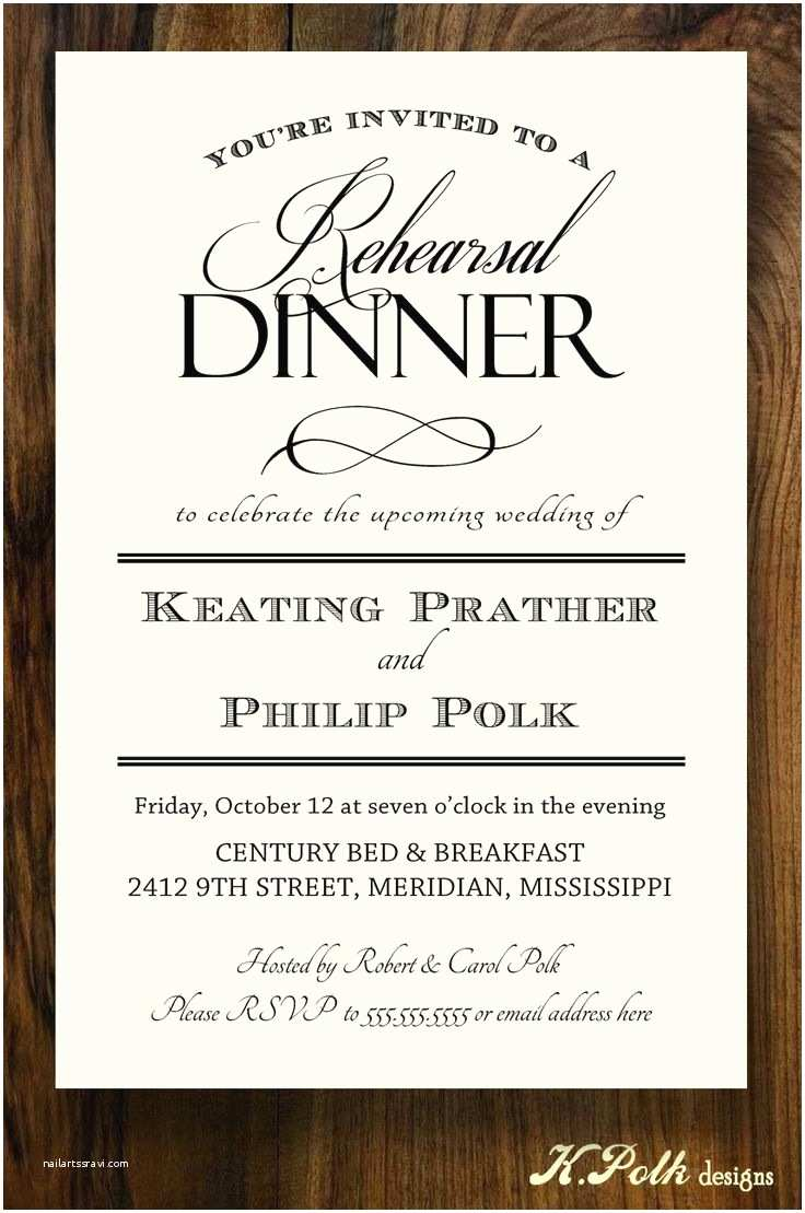 Wedding Rehearsal Dinner Invitation Wording 42 Best Rehearsal Dinner Invites Images On Pinterest
