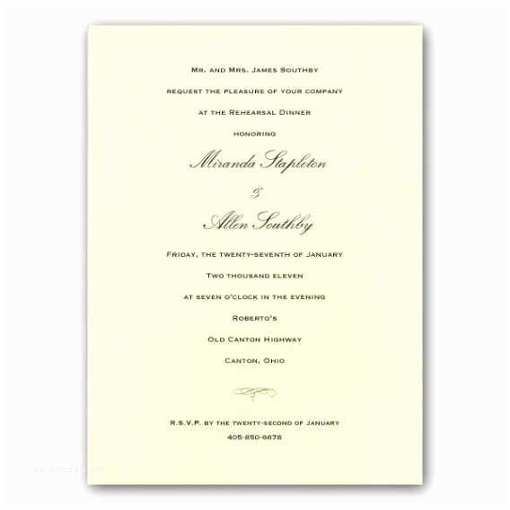 Wedding Rehearsal Dinner Invitation Wording Emily Post Wedding Invitation Wording Samples Yaseen for
