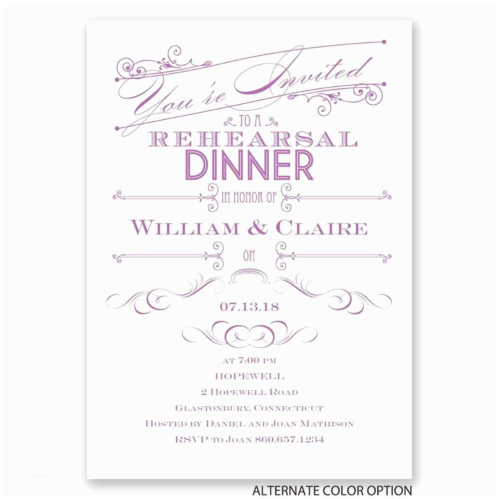 Wedding Rehearsal Dinner Invitation Wording Invitation to Rehearsal Dinner Wording