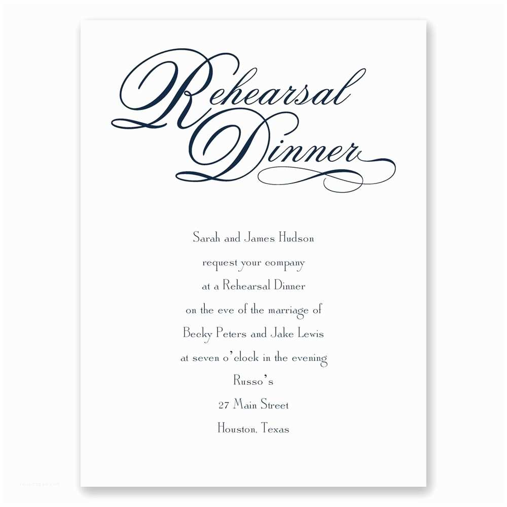 Wedding Rehearsal Dinner Invitation Wording Rehearsal Dinner Invitations Yaseen for