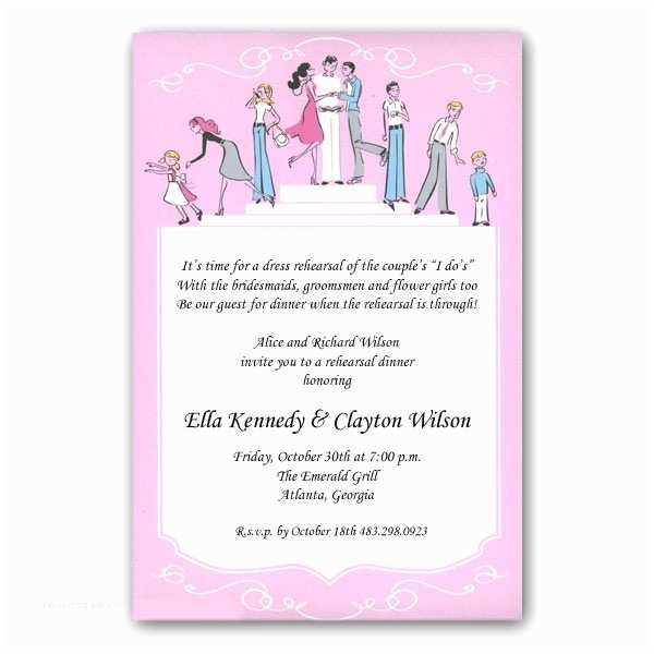 Wedding Rehearsal Dinner Invitations Mindy Weiss Wedding Rehearsal Dinner Invitations