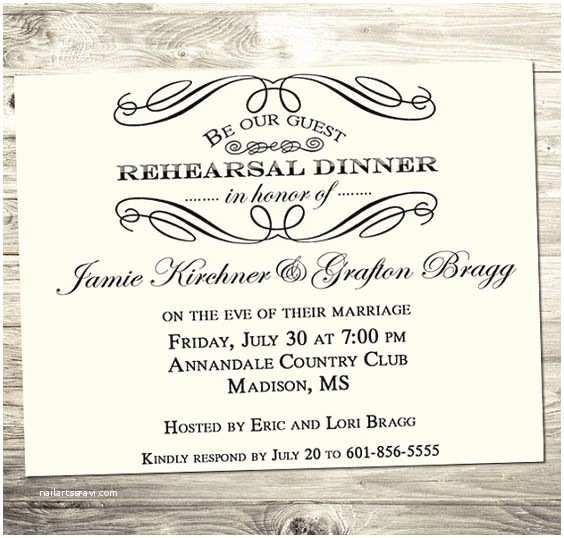 Wedding Rehearsal Invitation Ideas Cute Invitation for Rehearsal Dinner