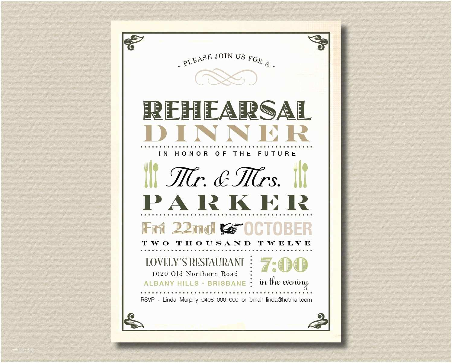 Wedding Rehearsal Invitations Rehearsal Dinner Invitation Template Free