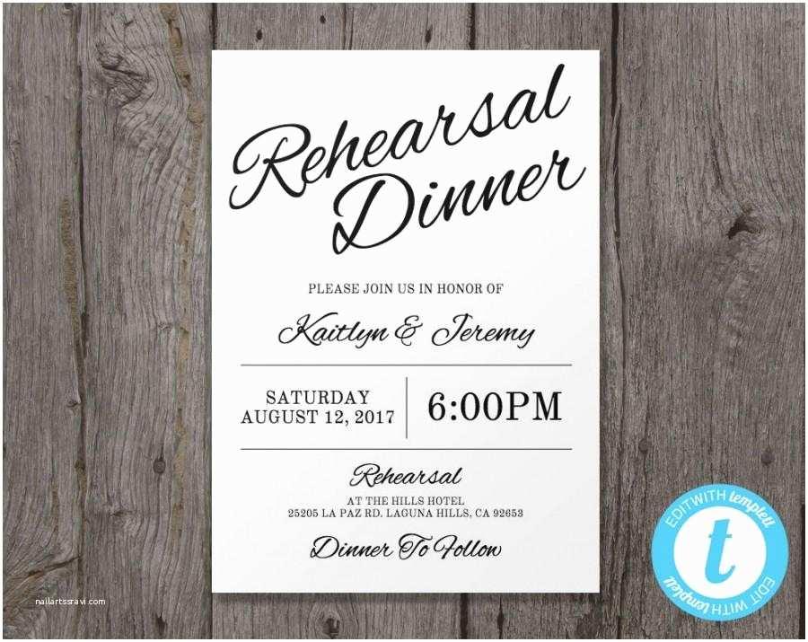 Wedding Rehearsal Invitations Rehearsal Dinner Invitation Template – Gangcraft