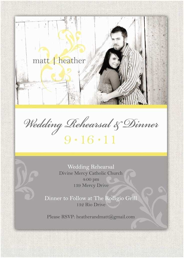 Wedding Rehearsal Invitations Wedding Rehearsal Dinner Invitation