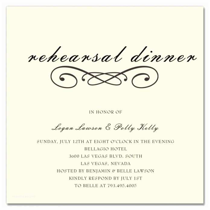 Wedding Rehearsal Invitations when Should Rehearsal Dinner Invitations Be Sent