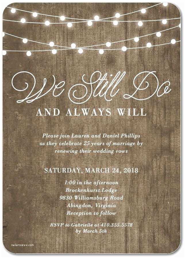 Wedding Renewal Invitations The 25 Best Vow Renewal Invitations