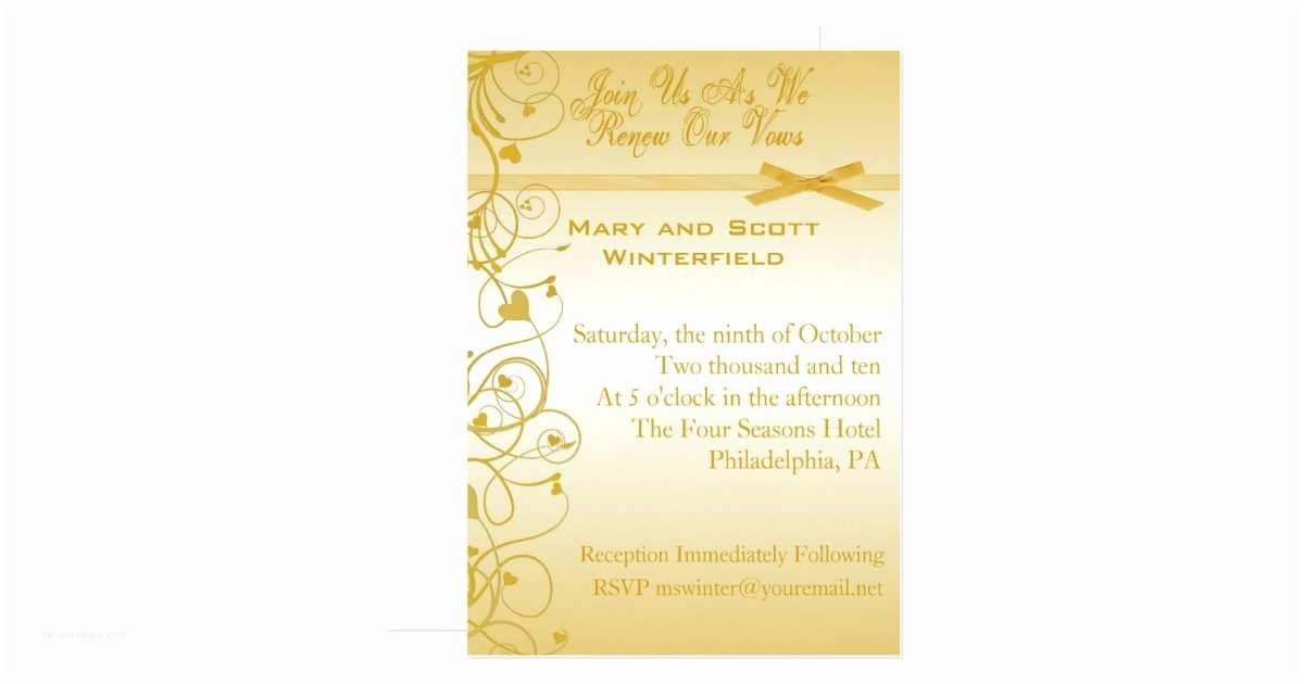 Wedding Renewal Invitations Wedding Vow Renewal Invitations