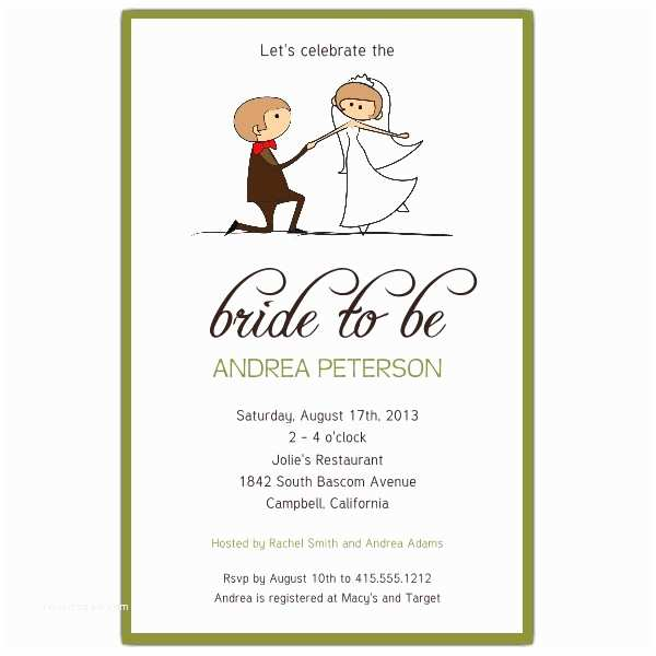 Wedding Shower Invitation Wording Couple Sage Bridal Shower Invitations