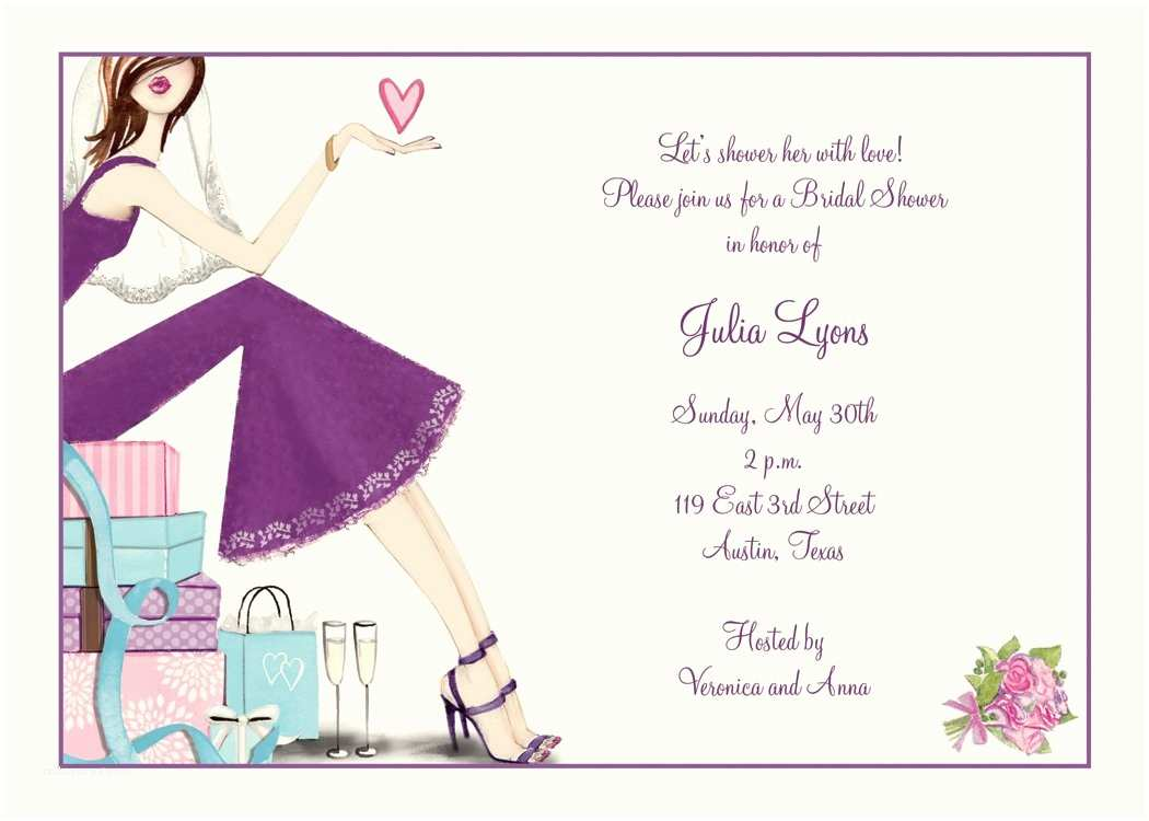 Wedding Shower Invitations Bridal Shower Invitations Custom Bridal Shower