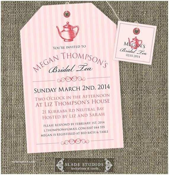 Wedding Tea Invitations 12 Best Images About High Tea Invitation On Pinterest
