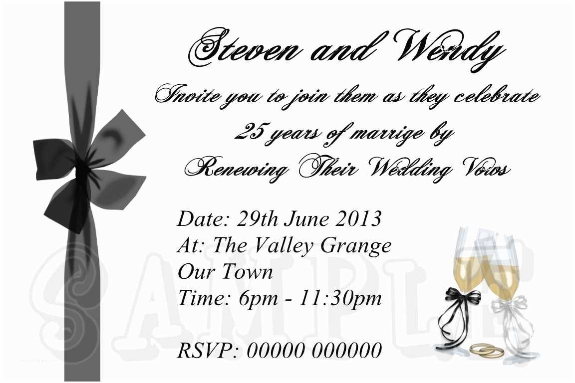 Wedding Vow Renewal Invitations Best Collection Wedding Vow Renewal Invitations
