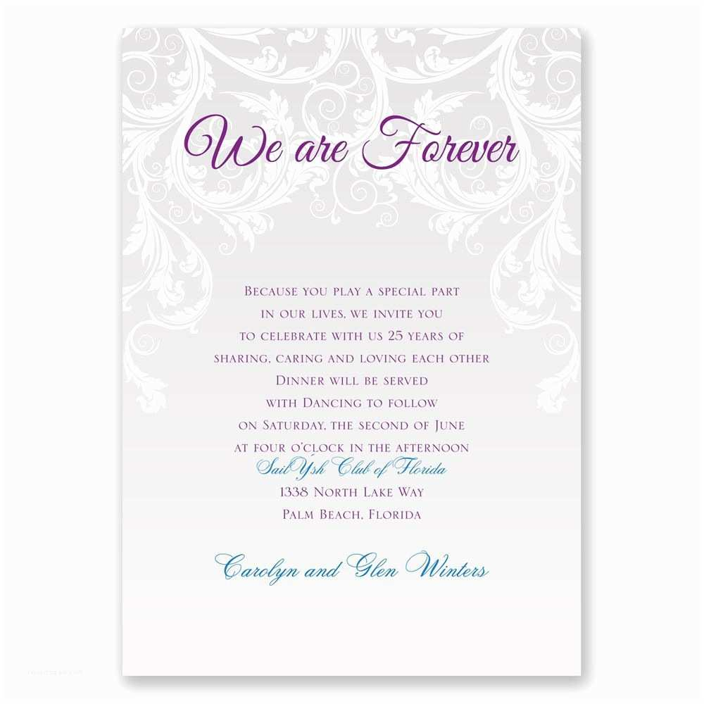 Wedding Vow Renewal Invitations Sample Wedding Invitation Vows Image Collections