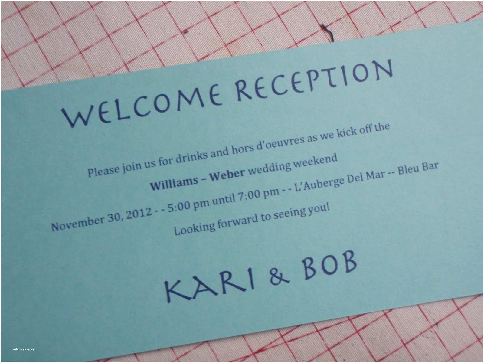 Wedding Welcome Party Invitation Invitation Wording Wel E Party Choice Image Invitation