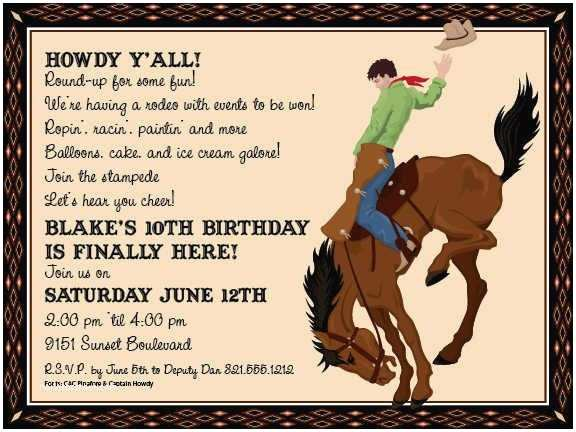 Western Birthday Invitations 82 Best Images About Western Roundup On Pinterest