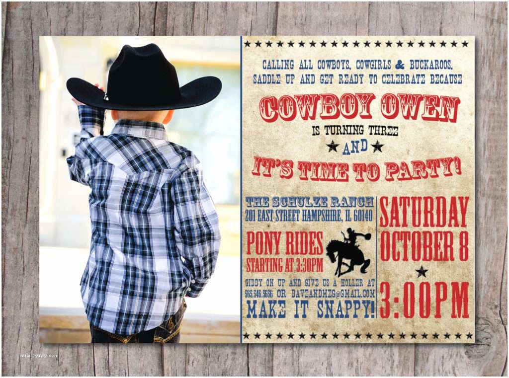 Western Birthday Invitations Invitation Wording for Western Party Image Collections