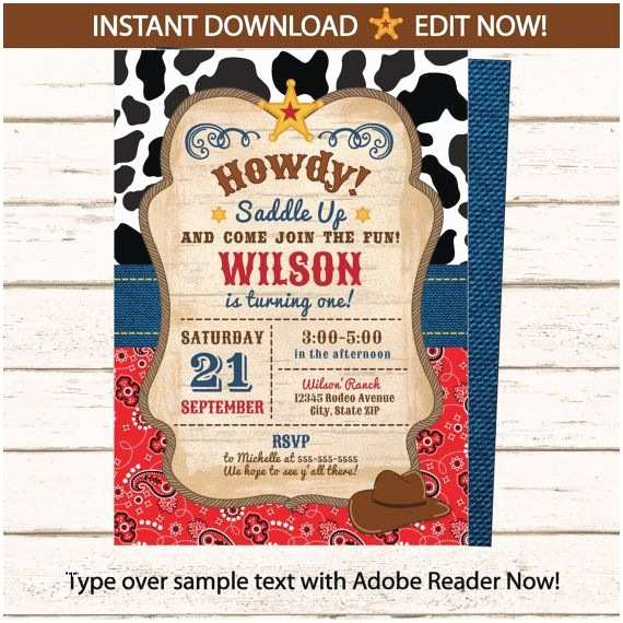 Western Party Invitations Best 25 Cowboy Party Invitations Ideas On Pinterest