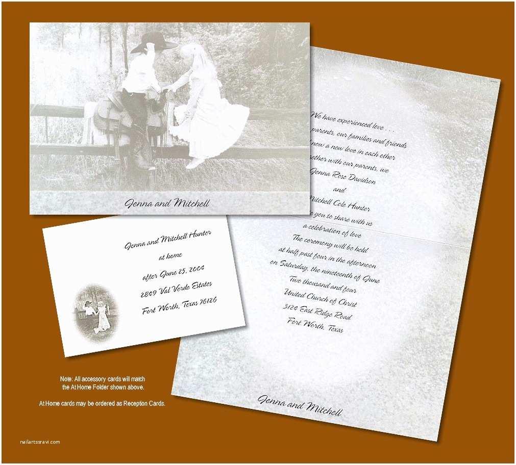Western Wedding Invitations Marry My Friend Western Style Wedding Invitation