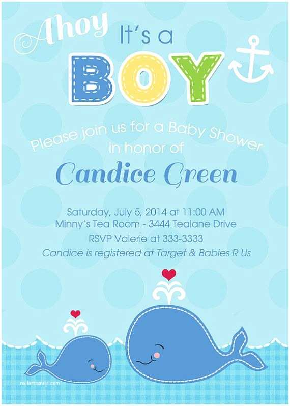 Whale Baby Shower Invitations 301 Moved Permanently