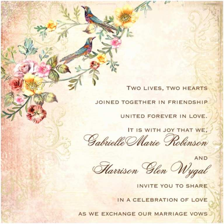 What Do You Say On A Wedding Invitation A Guide to Wedding Invitation Wording Etiquette