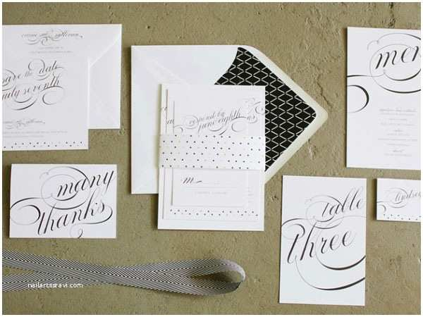 What is Included In A Wedding Invitation Suite Modern Wedding Invitations by Beloved Indeed