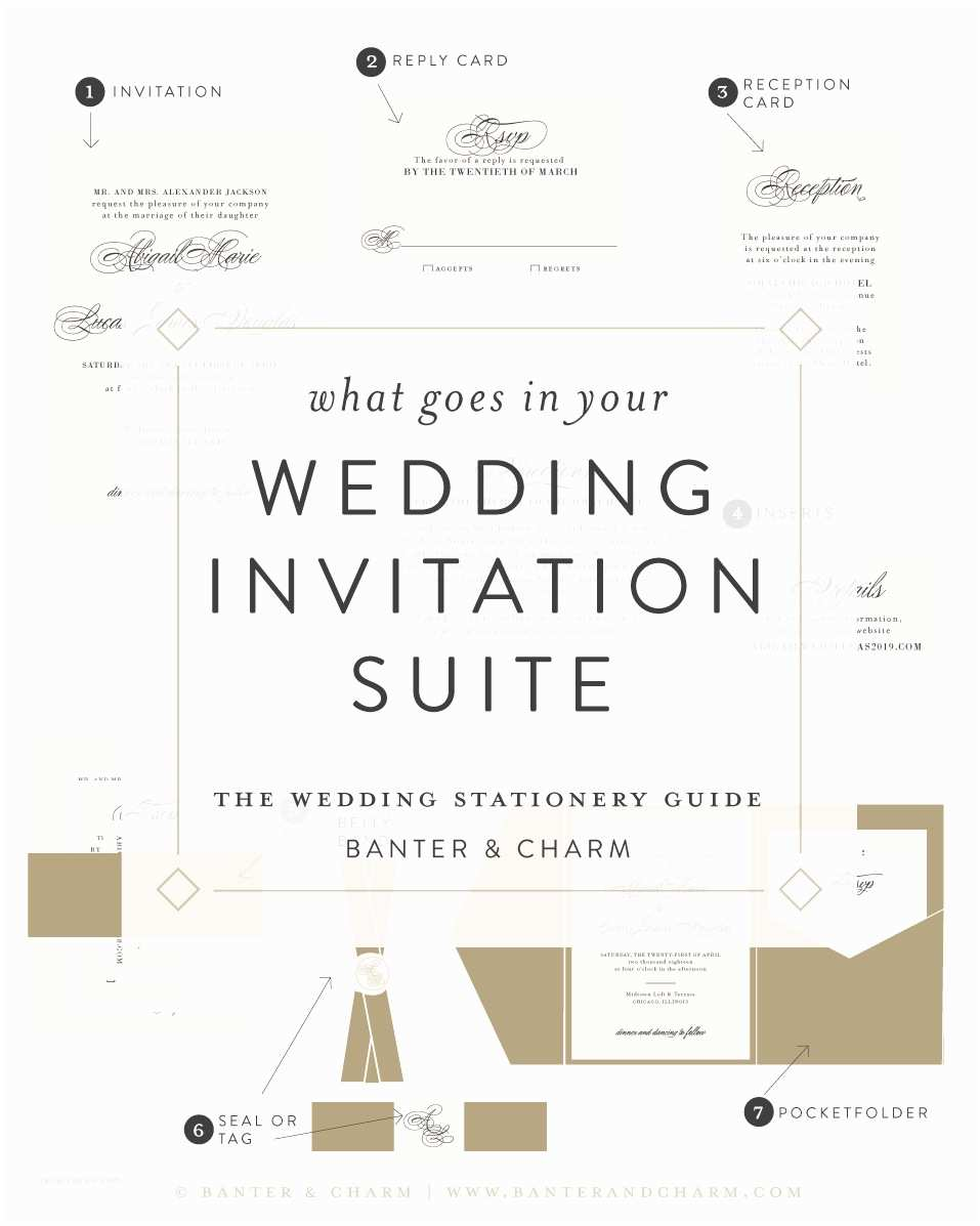 What is Included In A Wedding Invitation Suite Wedding Stationery Guide What Goes In Your Invitation