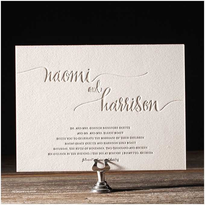 What Name Goes First On Wedding Invitations Typography Wedding Invitations Brides