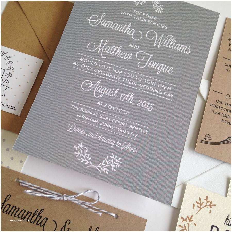 What Paper to Use for Wedding Invitations Perfect Day Wedding Invitation by Pear Paper Co