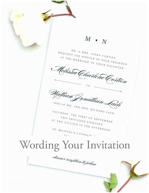 What Should A Wedding Invitation Say What Should A Wedding Invitation Say Also How are Wedding