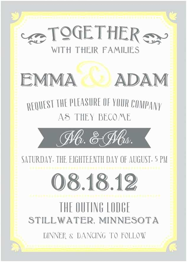 What Should A Wedding Invitation Say What Should A Wedding Invitation Say – Srebrokoloidalnefo