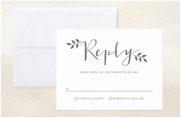 What Size are Rsvp Cards for Wedding Invitations Ways to Word Your Rsvp Card Rustic Wedding Chic
