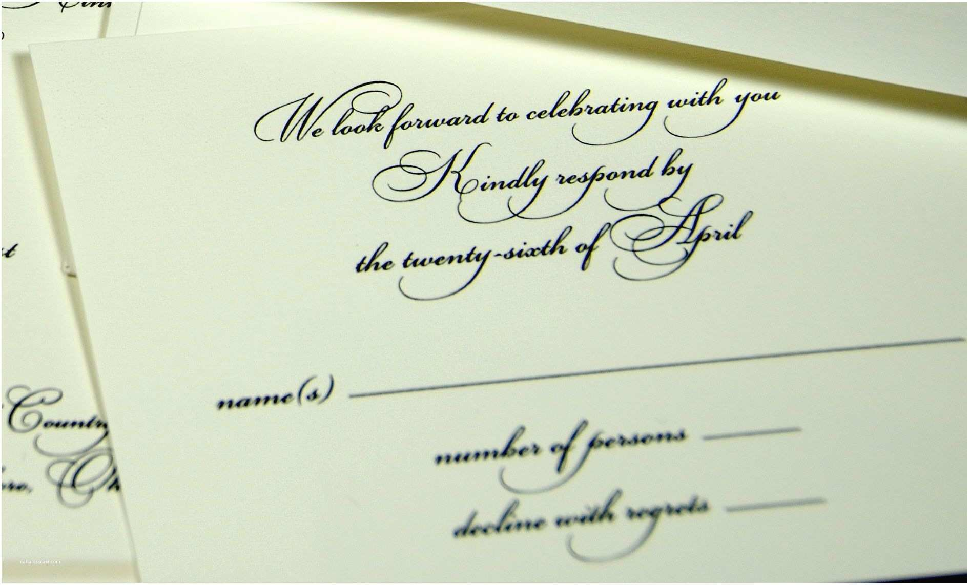 What Size are Rsvp Cards for Wedding Invitations Wedding Invitations Response Cards Wedding Invitations