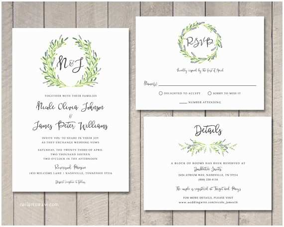 What Size are Rsvp Cards for Wedding Invitations Wedding Invitations with Rsvp Cards