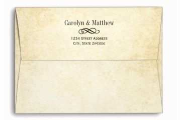 What Size Are Wedding Invitation Envelopes Wedding Invitation