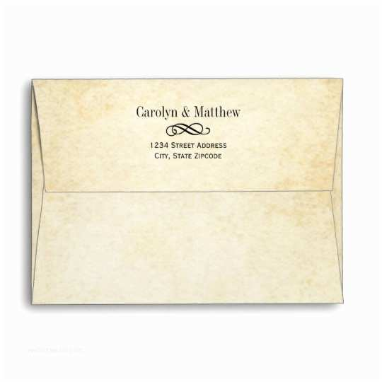 What Size are Wedding Invitation Envelopes Wedding Invitation Envelopes Vintage Style
