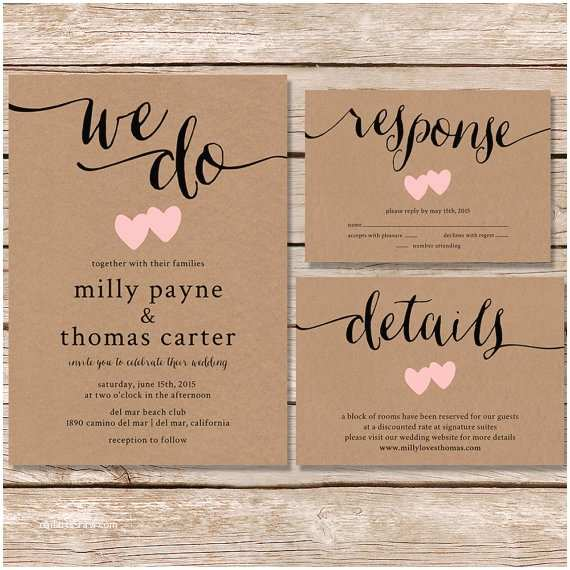 What to Include In Wedding Invitation 20 Rustic Wedding Invitations Any Bride Will Love