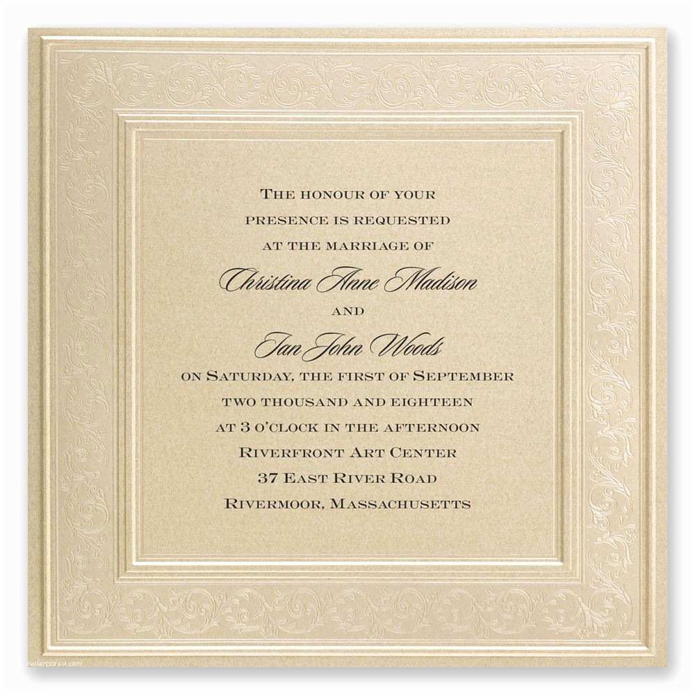 What to Include In Wedding Invitation Wedding Invitation Card