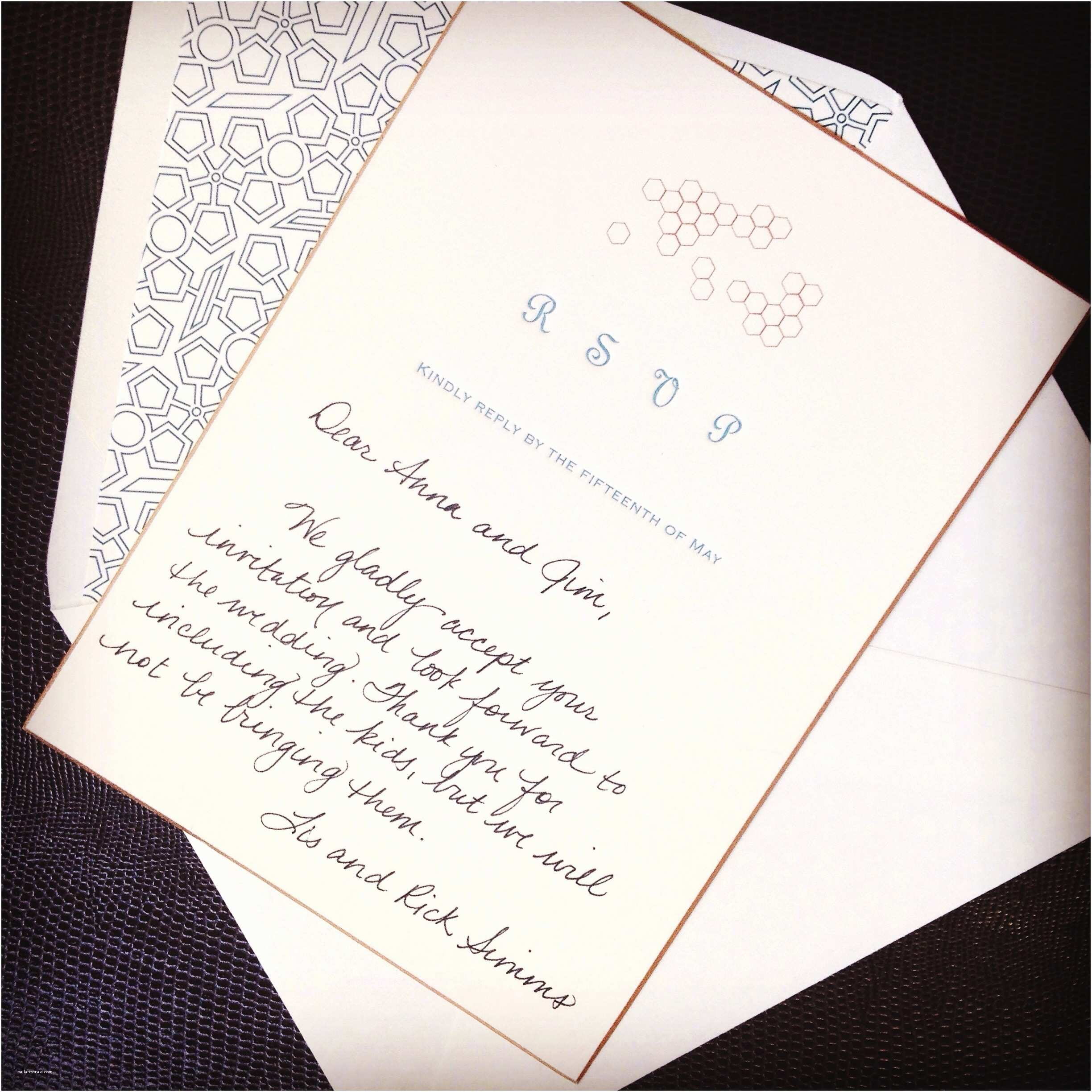 What to Put On Wedding Invitations Processed with Rookie